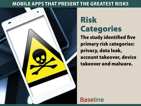 Mobile Apps That Present the Greatest Risks | Mobile Security | Scoop.it