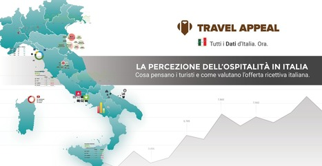 La più grande analisi sul turismo in Italia - Travel Appeal | Girando in rete... | Scoop.it