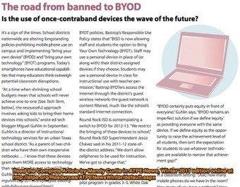 Around the Corner-MGuhlin.org: The Road from Banned to BYOD @atpe #byod @paulrwood @woscholar @neisd | Bring Your Own Device | Scoop.it