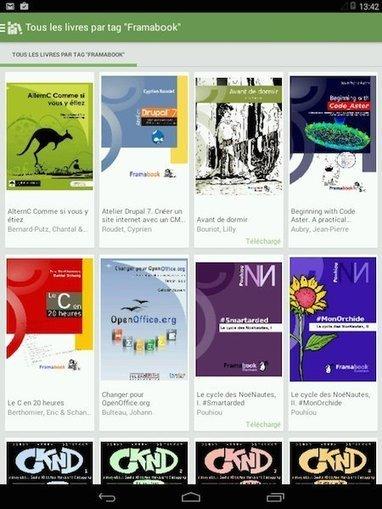 Framabookin, une bibliothèque d'ebooks pour valoriser la culture libre | Education et TICE | Scoop.it