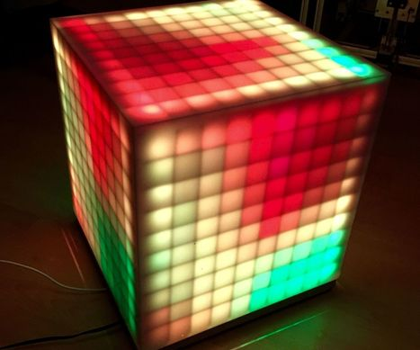 500 LED-Pixel RGB-Brick | Open Source Hardware News | Scoop.it
