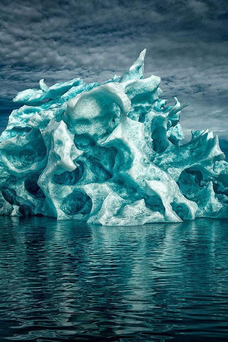 Contemplez ces impressionnants icebergs que la nature a sculptés de la plus belle des façons | Ocean | Scoop.it