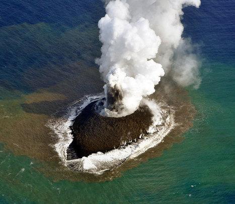 Duplica su tamaño la isla de Japón que nació tras erupción volcánica | Learn a Language to use it, use it to learn it ! | Scoop.it