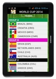 World Cup 2014 - Android Apps on Google Play | METROQUBE | Scoop.it