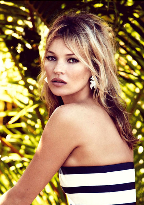 She's Still Got It: Kate Moss Stuns in British Vogue Spread | women life style fashion | Scoop.it