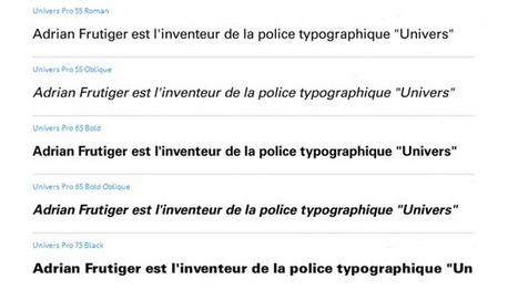 Frutiger, maître de la typographie - France Inter | calligraphie | Scoop.it