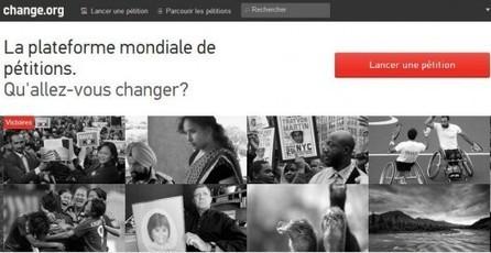 Pétitionner en ligne, Change.org | Geeks | Scoop.it
