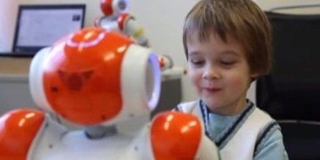 Robots para ayudar a niños con autismo a desarrollar habilidades sociales | ciberpsicología | Scoop.it