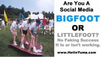 Is there really a Social Media Bigfoot? | Hot In Yuma Social Media and SEO Blog | SEO and Social Media Engagement | Scoop.it
