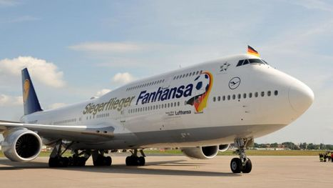 Lufthansa rolls out World Cup 747 livery for soccer champs | Oktoberfest! | Scoop.it