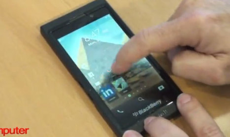 Blackberry 10 Revealed in Demo Video - Mobile Magazine | MobileandSocial | Scoop.it