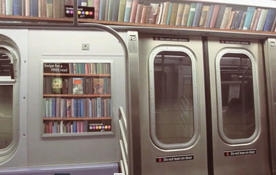 The Underground New York Library by Miami Ad School students | Positive futures | Scoop.it