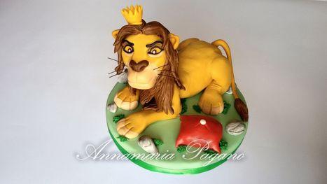 Cake Topper Simba... il re Leone   Cake Design e Decorazioni Torte   Scoop.it