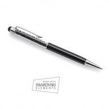 Boligrafo Swarovski Negro   VanCrystals   Joyas y accesorios   Scoop.it