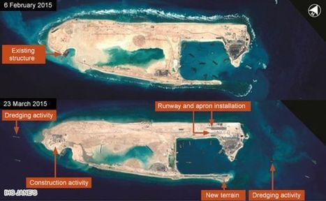 China 'building runway in disputed South China Sea island' | Geography Education | Scoop.it