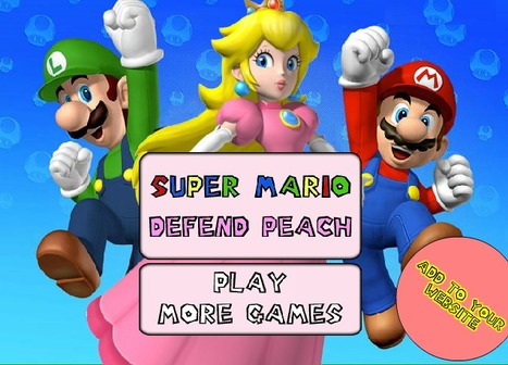 Super Mario Defend Peach - Play Your Best Mario Games On toonkaboom.com | Best Cartoon Games | Scoop.it