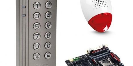 Digicode avec lecteur de puces RFID avec retour d'état | Hightech, domotique, robotique et objets connectés sur le Net | Scoop.it