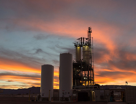 Blue Origin Debuts the American-made BE-3 Liquid Hydrogen Rocket Engine | SpaceRef Business | The NewSpace Daily | Scoop.it