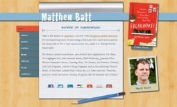 Pubmission Creative Launches Website for Author Matthew Batt | Pubmission: The Blog | Publishing in the Digital Age | Scoop.it