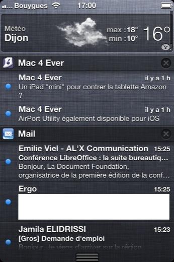 iOS 5.0 est disponible pour tous ! | firefox-comicsandgeek | Scoop.it