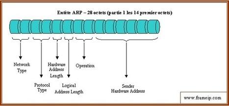 Tutoriel sur les serveurs : Eléments de cours sur protocole ARP | Cours Informatique | Scoop.it
