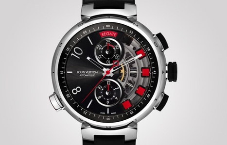 Louis Vuitton Spin Time Regatta watch titanium edition launched | MINDS OF LUXURY | Scoop.it