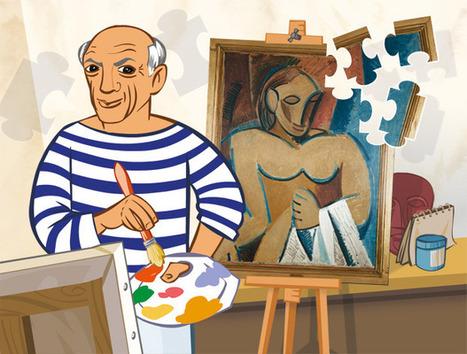 Pablo Picasso expliqué aux enfants | 1jour1actu - Les clés de l'actualité junior | Enseñar Geografía e Historia en Secundaria | Scoop.it