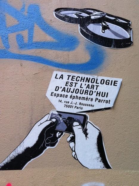 La technologie est l'art d'aujourd'hui | art et machines | Scoop.it
