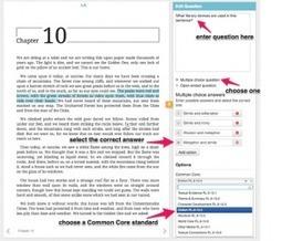 Curriculet. Plateforme de lecture interactive - Les Outils Tice | TIC et TICE mais... en français | Scoop.it