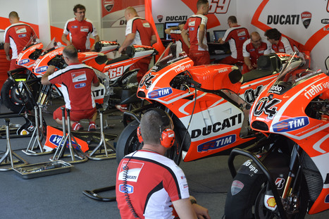 Ducati GP Team Catalunya Test Results and Photo Gallery | Ductalk Ducati News | Scoop.it