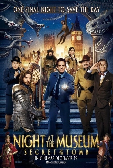 REVIEW: Night at the Museum 3: Secret of the Tomb | Screen Beanz | Digital ExPRESSion | Scoop.it