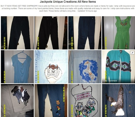 Jackpots Unique Creations:All New Items | Facebook | Auction Sales | Scoop.it