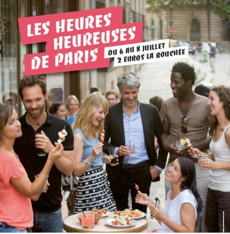 Envie d'un parcours GOURMAND dans #Paris14 ? : les #HeuresHeureuses sont faites pour vous | Le BONHEUR comme indice d'épanouissement social et économique. | Scoop.it