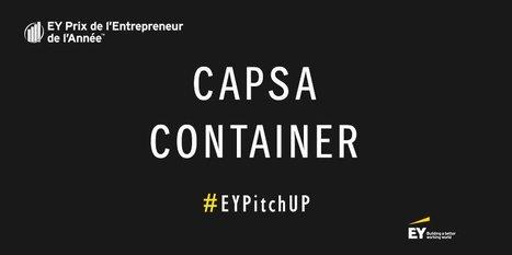 Capsa Container,remporte le Prix du public Entrepreneur de l'AnnéeE&Y 2016 | Innovation @ Lyon | Scoop.it