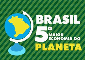 BRASIL SE TORNARÁ 5ª MAIOR ECONOMIA DO MUNDO ATÉ 2023, afirma consultoria  britânica | Copa Mundial 2014 | Scoop.it