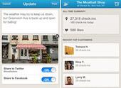 Foursquare lance une application dédiée aux commerçants   Banking The Future   Scoop.it