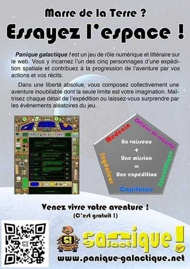 Panique galactique: un jeu de rôle numérique et littéraire : ActuSF | Jeux de Rôle | Scoop.it