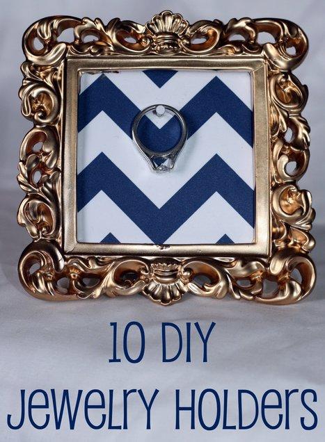 10 DIY Jewelry Holders | Art & Design: Digital & Analog - and (Interior) Architecture | Scoop.it