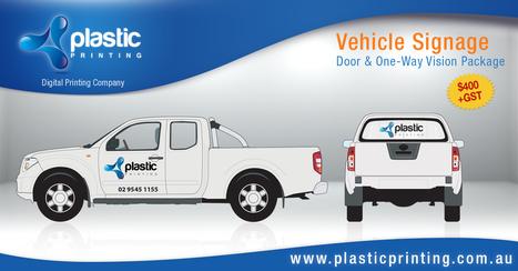 Vehicle Signage & Car Graphics | Plastic Printing blog | Plastic Printing Pty Ltd | Scoop.it