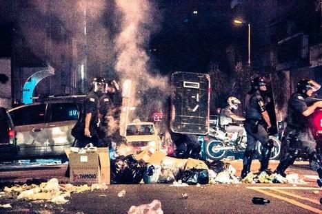 Policial disparou tiros de arma letal contra estudantes em protesto — Agência Democratize | Anonimato da polícia | Scoop.it