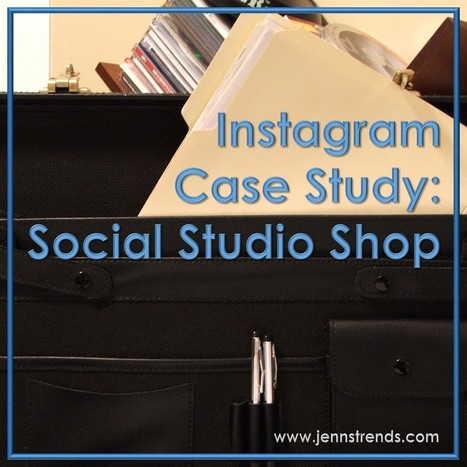 Instagram Case Study: Social Studio Shop | Business in a Social Media World | Scoop.it