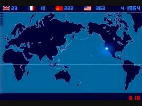 Time lapse map of every nuclear explosion ever on Earth | Histoire geo Terminale (programmes 2012) | Scoop.it