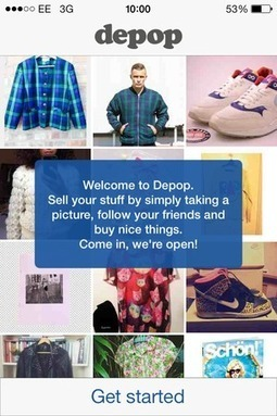 Depop's app trumps eBay with a slick combination of m-commerce and social | Trends in Mobile Web use | Scoop.it