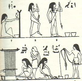 Imagenes de Egipto: Tejidos y ropas en el Antiguo Egipto | La vestimenta y calzados también tienen su historia. | Scoop.it
