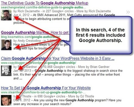 Google Authorship How To Video: Why Google Authorship is a Must! | Digital Marketer Watch | Scoop.it