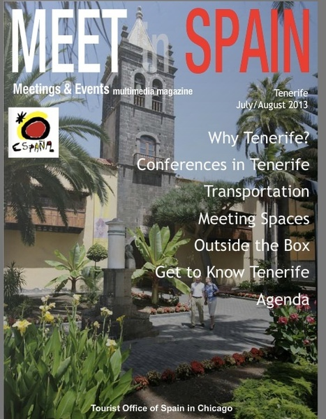Tenerife Meetings and Events | Meetings, Tourism and  Technology | Scoop.it