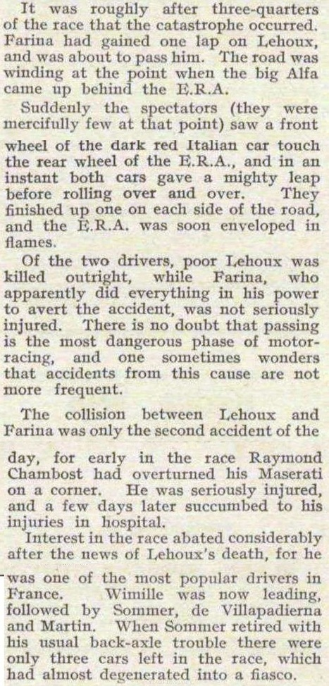 Disaster in Deauville; the 1936 Grand Prix   Normandy Then and Now   Scoop.it