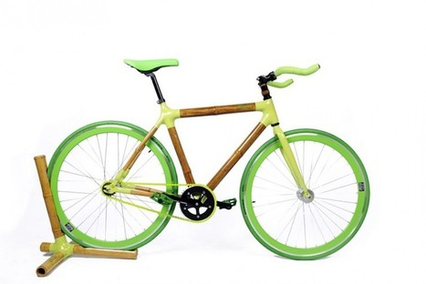These eco-friendly bicycles are made from bamboo | BIOCOMPOSITES | Scoop.it