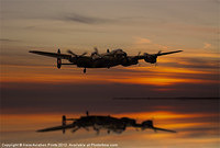 Lancaster Bomber almost home by Kens Aviation Prints | 460 Squadron - Bomber Command: 1942-45 | Scoop.it