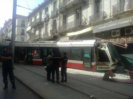 Accident de tramway à Oran (Photos) - Actualité | L'actu des tramways | Scoop.it
